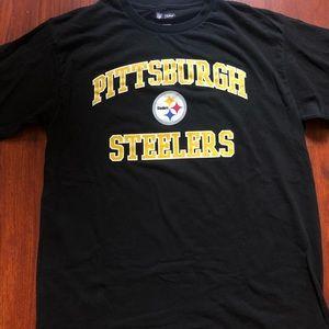 LS Steelers football tee NFL brand
